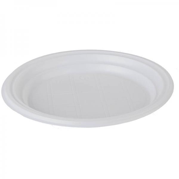 Тарелки пластиковые, диаметр 165, 170 и 205мм, 10 - 100 шт/уп (Цены см. подробнее)