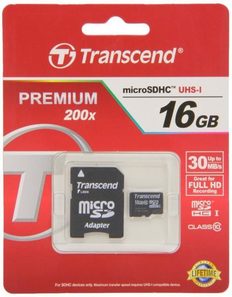 Карта памяти 16 GB microSDHC 10 класс