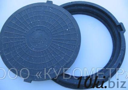 Люк полимерно-песчаный тип ЛМ (до 1,5 т) купить в Ульяновске - Канализационные люки с ценами и фото