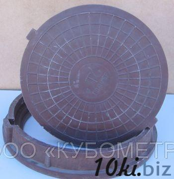Люк полимерно-песчаный тип С (до 6 т) купить в Ульяновске - Канализационные люки с ценами и фото