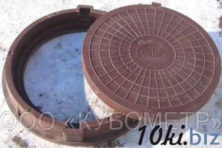 Люк полимер-песчаный тяжелый тип Т (до 15 т) купить в Ульяновске - Канализационные люки с ценами и фото