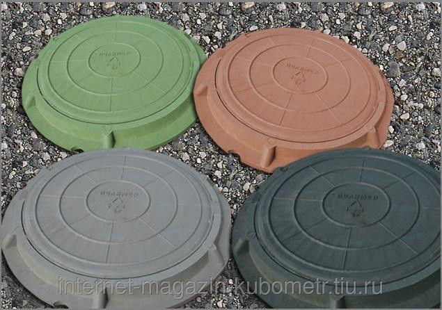 Люк полимер-песчаный легкий тип Л (до 3 т)