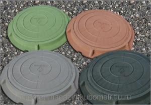 Фото Люки полимерно-песчаные канализационные Люк полимер-песчаный легкий тип Л (до 3 т)