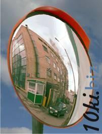 Дорожное сферическое зеркало D 1000 мм купить в Ульяновске - Обзорные зеркала безопасности с ценами и фото