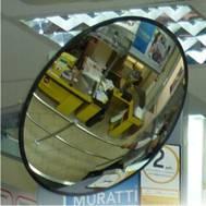 Фото Зеркала обзорные сферические и купольные Зеркала обзорные для помещений D 700мм