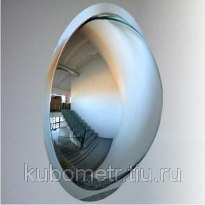 Фото Зеркала обзорные сферические и купольные Зеркало купольное для помещений D 600 м