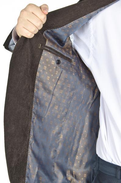 Фото Пиджаки Пиджак вельветовый, коричневый