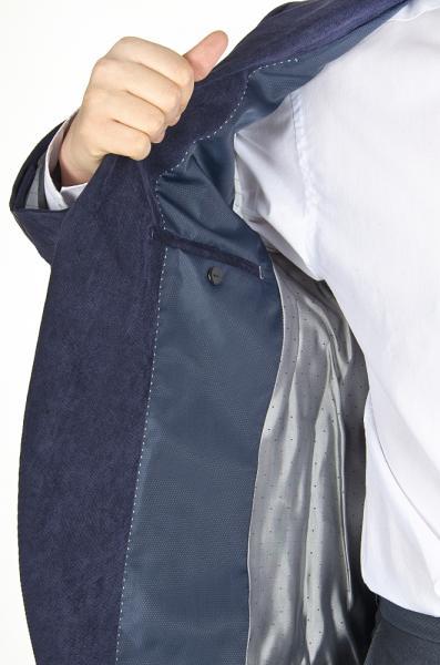 Фото Пиджаки Пиджак вельветовый, синий