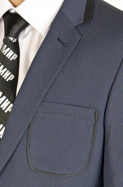 Фото Пиджаки Пиджак синий в полоску