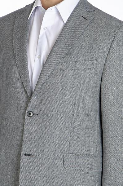 Фото Пиджаки Пиджак шерстяной серый