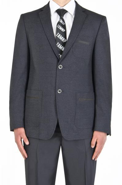 Пиджак шерстяной,плотный