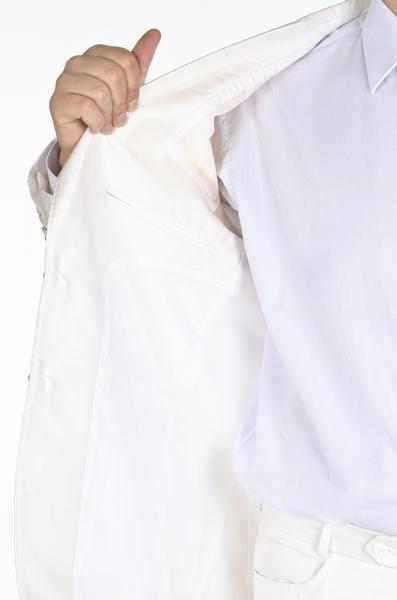 Фото Костюмы Костюм белый с кремовым отливом