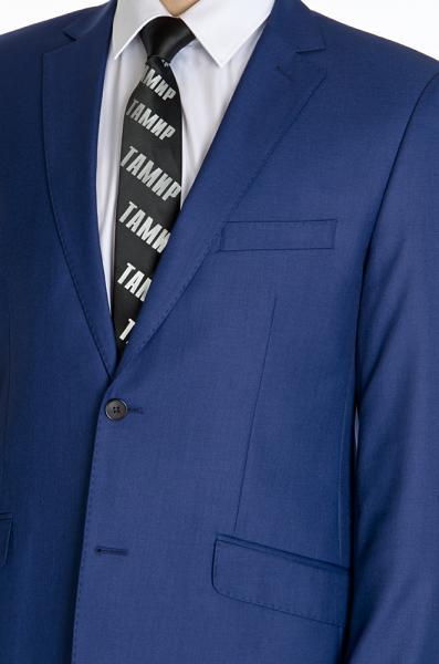 Фото Костюмы Костюм полуприталенный, бледно-синий ,матовый.