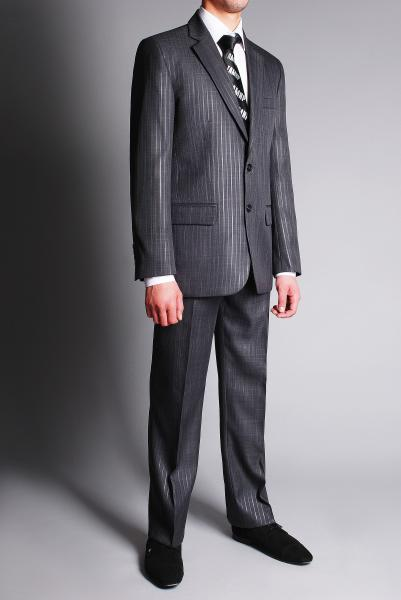 костюм тёмно-серый