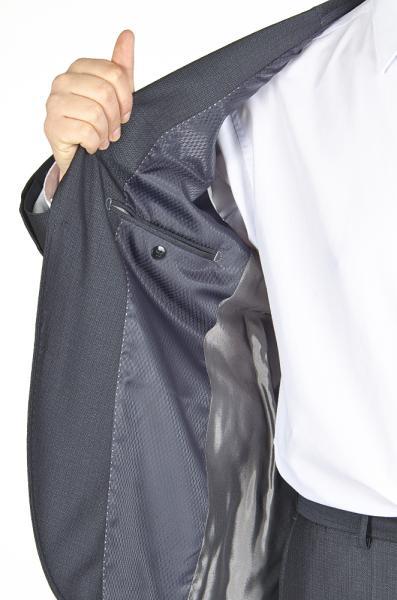 Фото Костюмы Костюм темно-серый с лоском