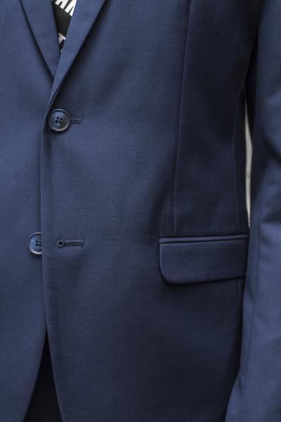 Фото Костюмы Молодежный костюм синего цвета.