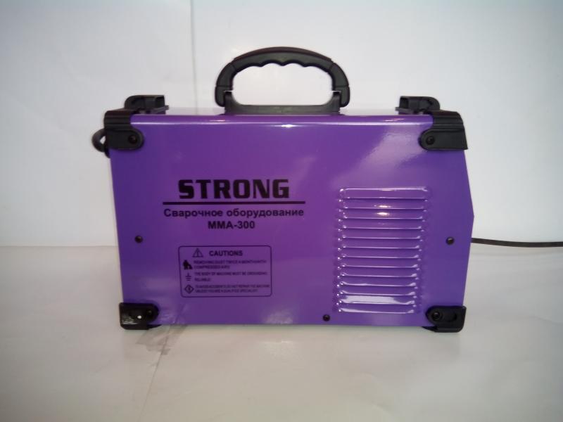 Инверторная сварка Strong ММА-300 (300 ампер) + маска хамелеон forte 1000 в комплекте