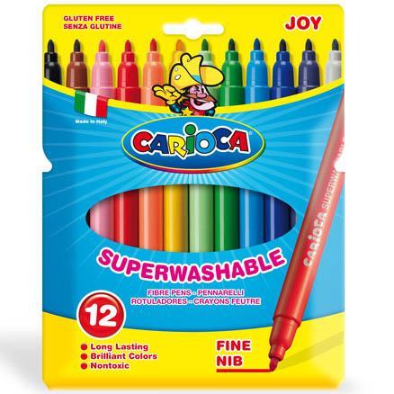 """Фломастеры """"Carioca Joy"""" (разное кол-во в уп., ЦЕНЫ см. подробнее)"""