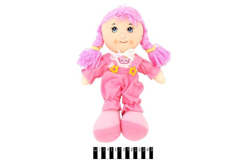 """лялька м""""яка  муз. 3 види r0114f р.36х21см."""