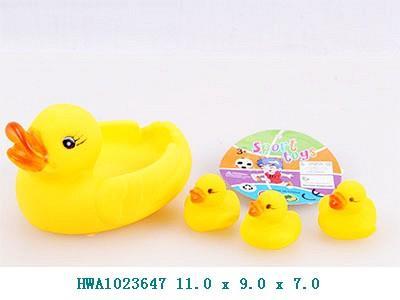 пищалка для ванной 5011 (hwa1023647), 2-вида, в пакете: 11х9х7 см