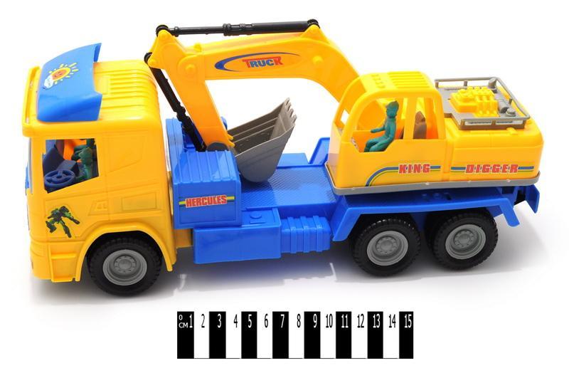 грузовик инерционный 0509, в слюде