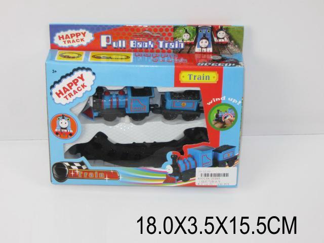 """настольная игра """"железная дорога"""" 3316a (650139), заводная, в коробке: 18х3,5х15,5 см"""