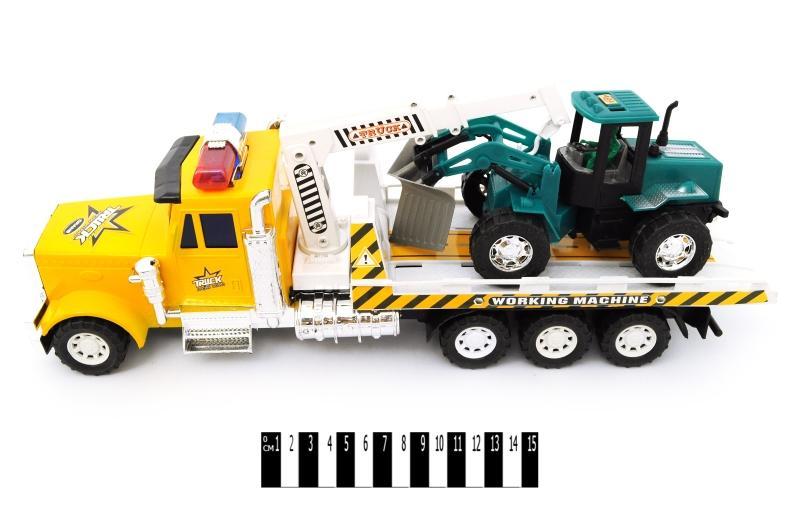 грузовик -евакуатор інерц. (ковпак) zl888-b9