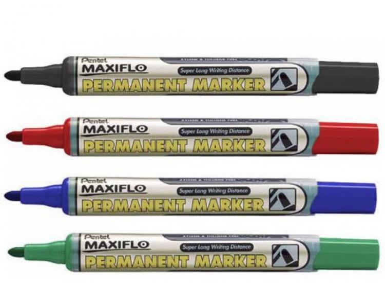 """Маркер перманентный """"Maxiflo"""" NLF50 с подкачкой (ассорти, см. подробнее)"""