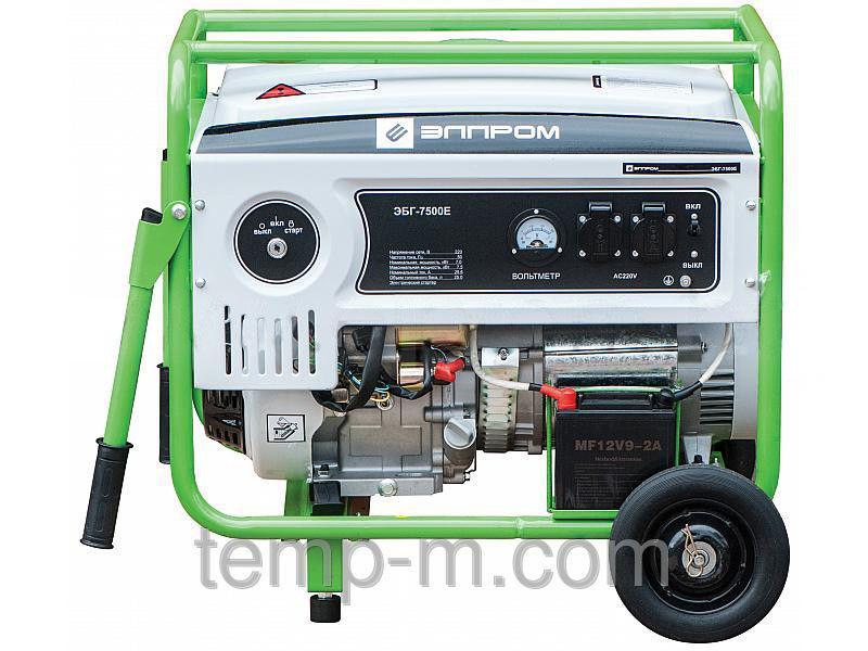 Генератор бензиновый Элпром ЭБГ 7500Е
