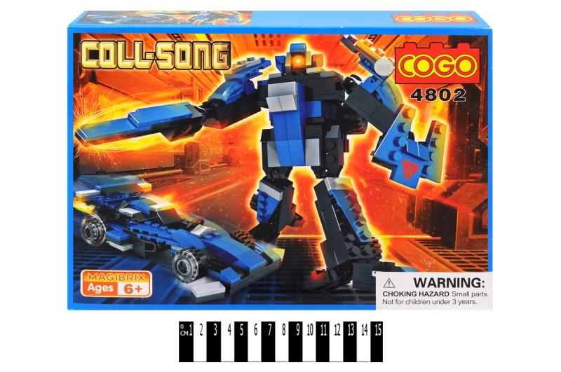 "констр. ""cogo "" ""робот"" 4802 р.34х24,5х6,3 см."