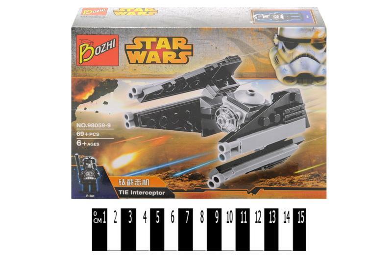 """конструктор """"brick"""", """"star wars"""" 98059-9, в коробке: 18,5х14х4,5 см"""