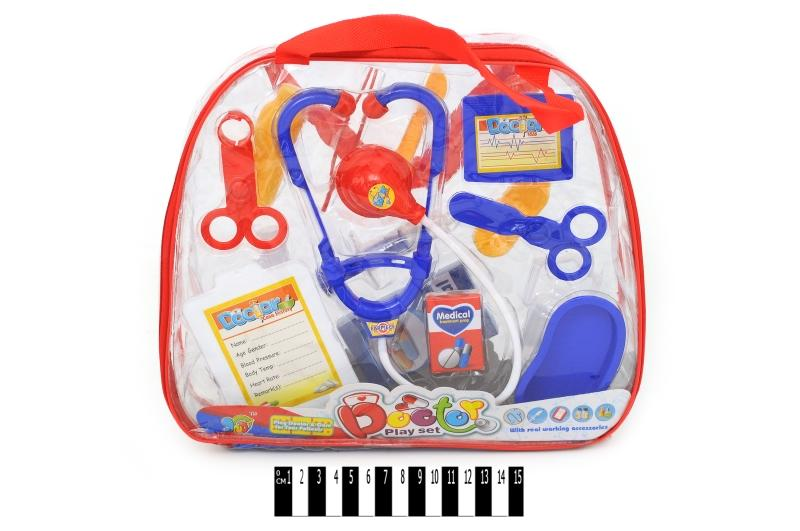 набор доктора (рюкзак) 116-43, размер: 30х25х6 см