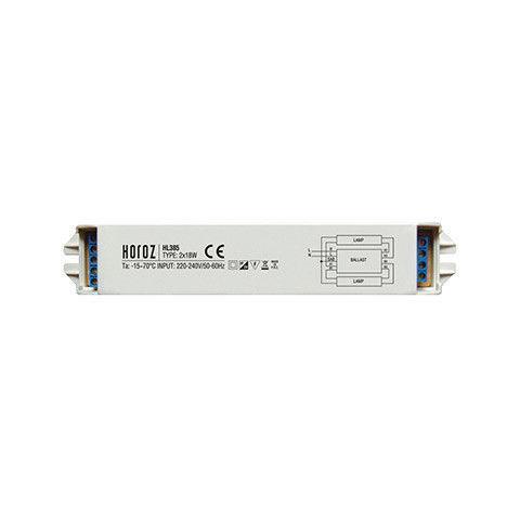 Электронный балласт 2x18W HL385