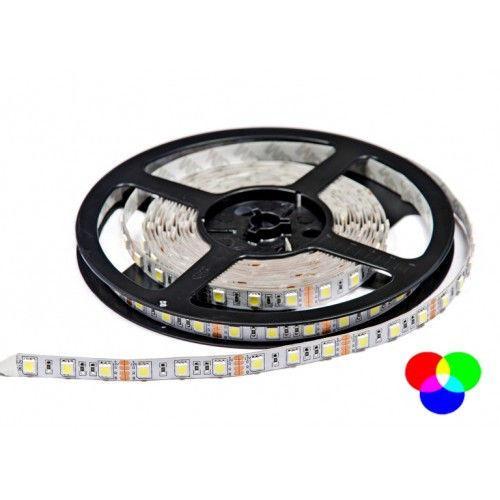 Светодиодная лента 5м B-LED 5050-60 RGB IP20 не герметичная