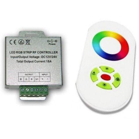 Контроллер RGB OEM 18А-RF-5 Touch белый