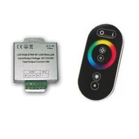 Контроллер RGB OEM 24А-RF-Touch черный
