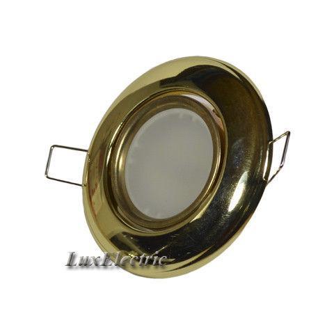 Светильник точечный HL750 золото