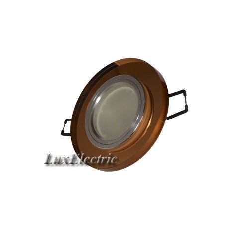 Светильник точечный ZA 042 коричневый