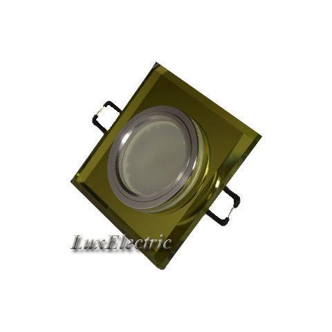 Светильник точечный ZA 043 желтый
