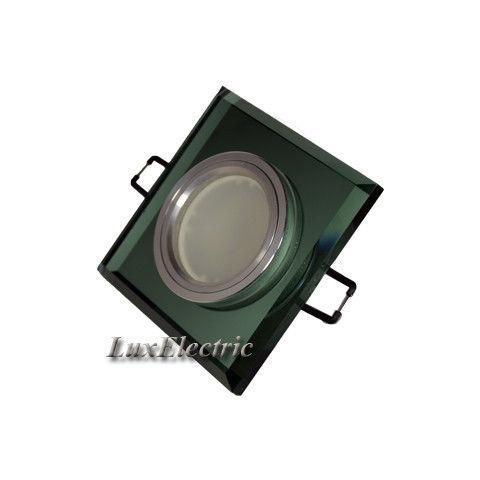 Светильник точечный ZA 043 зеленый