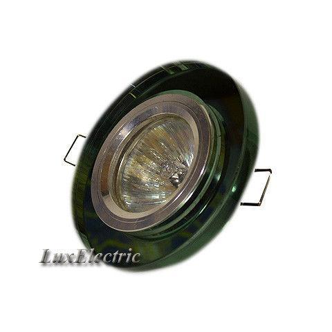 Светильник точечный ZA 042 зеленый