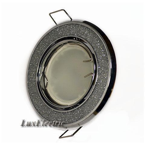 Светильник точечный ZA 722 серебро