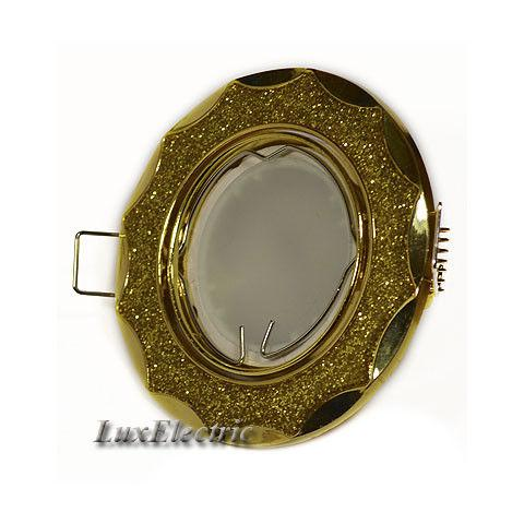 Светильник точечный ZA 723 золото