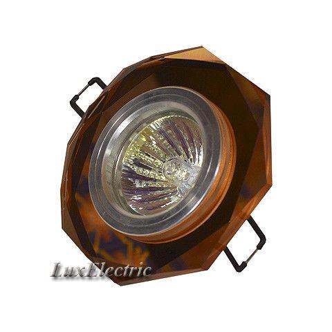 Светильник точечный ZA 014 коричневый