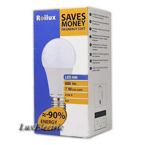 LED лампа Roilux 7W E27