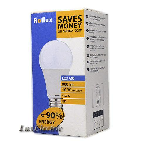 LED лампа Roilux 10W E27