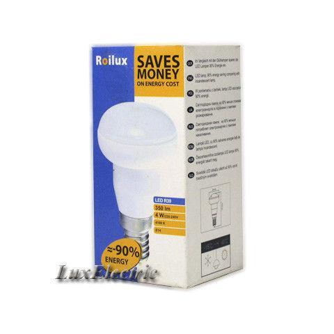 LED лампа Roilux R39 4W E14