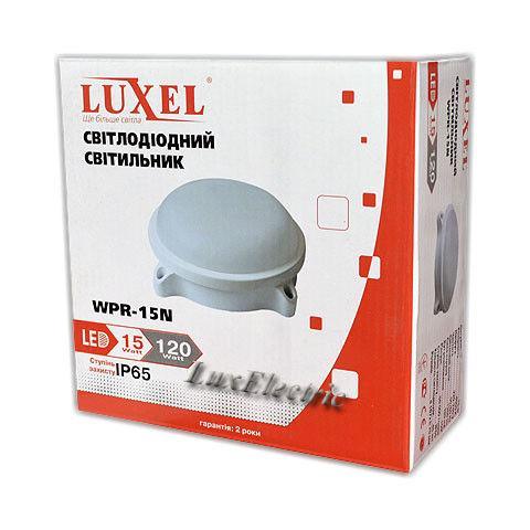 Светильник светодиодный герметичный Luxel WPR-15N