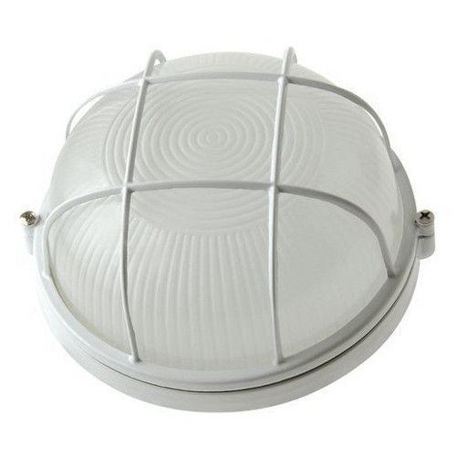 Светильник герметичный НПП 100Вт круг с решеткой