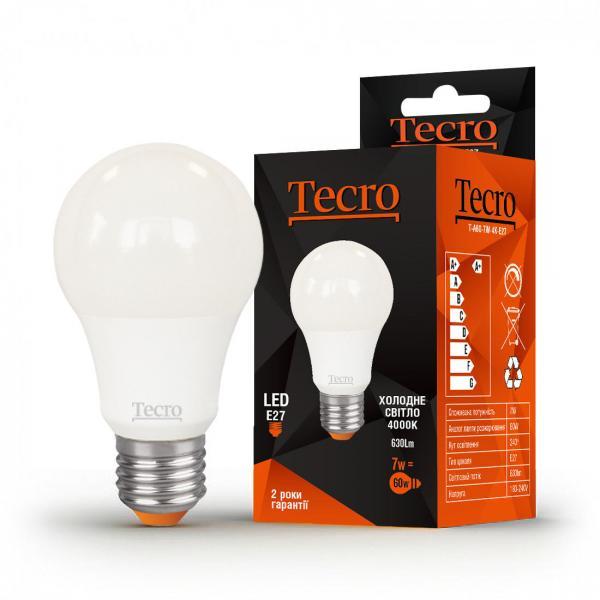 Лампа светодиодная Tecro 7 Вт